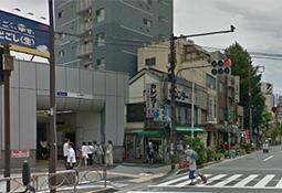 三ノ輪駅3番出口を出て左へ。そのまま大通りをまっすぐに